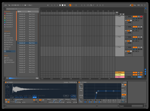 Slate Theme for Ableton 10 by Emmst