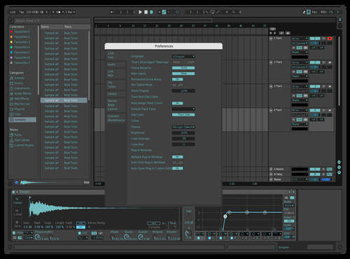 FutureA Theme for Ableton 10 by david