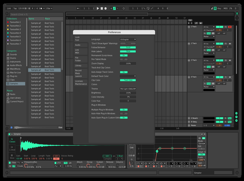 GurNey1 Theme for Ableton 10 by Gurney