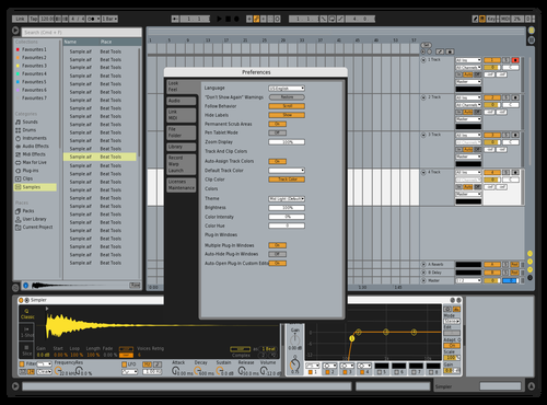 Skrillex Detailed Ruler Theme for Ableton 10 by Shubham Verma