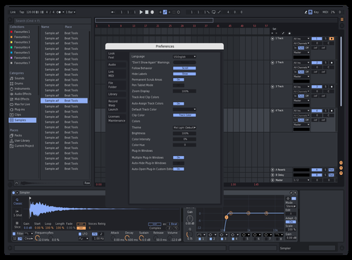 Chrome 2.0 Theme for Ableton 10 by Reaver