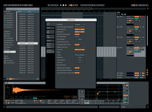 FWS 1 Theme for Ableton 10 by Mukul