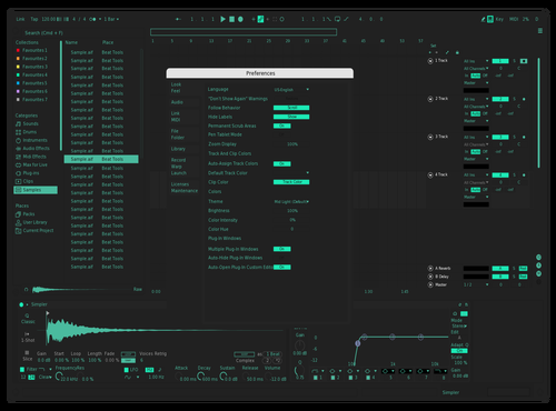 Blackout Theme for Ableton 10 by Rutger Velloso