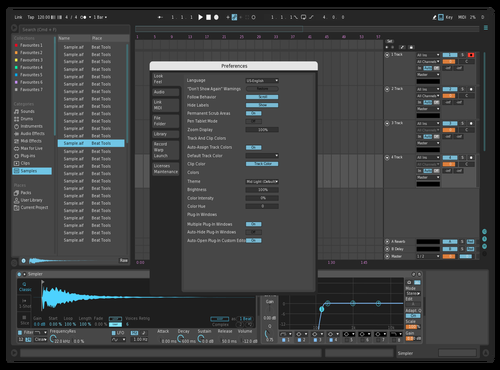 My cool theme Theme for Ableton 10 by ddd