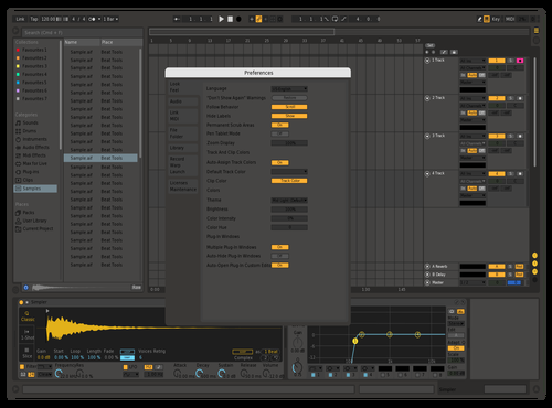 Mixail 2 Theme for Ableton 10 by Mixail