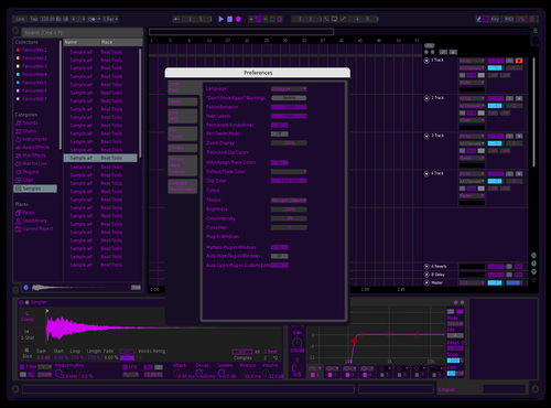 VILAS PINK PURPLE 3 Theme for Ableton 10 by jose vila