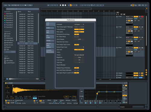 CubletonEdit Theme for Ableton 10 by A2FM