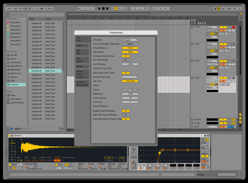 Live9f Theme for Ableton 10 by Nauj