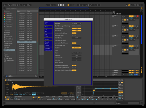 T02 Theme for Ableton 10 by Con