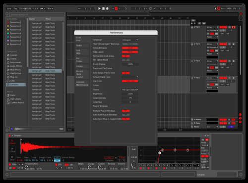 Black & Red Anarchy Theme for Ableton 10 by Jack_Ternion