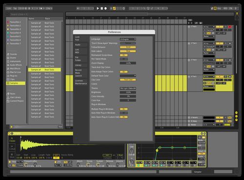 Ismail wafid Theme for Ableton 10 by wafid