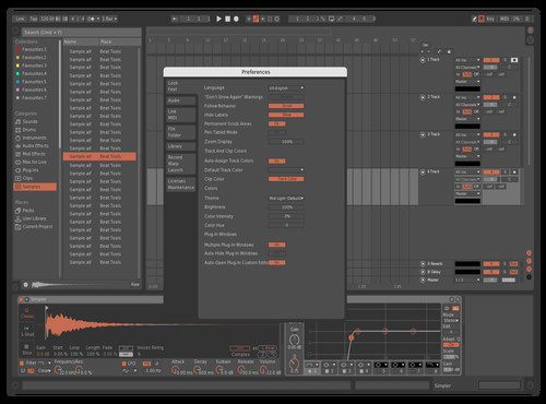 Carrot Theme for Ableton 10 by fareomg