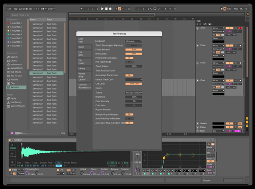 MIDDARK RECOLOR Theme for Ableton 10 by Jacob