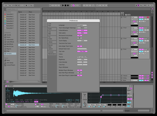 Peepee Theme for Ableton 10 by Reaver