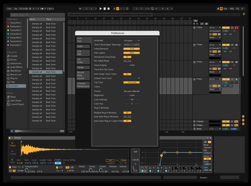 Darker Theme for Ableton 10 by Arran