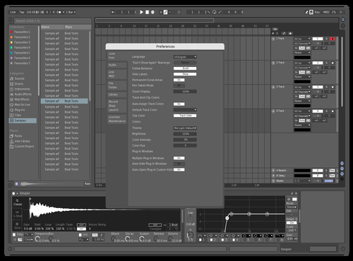 Techhouse Stripped Theme for Ableton 10 by David Wesley