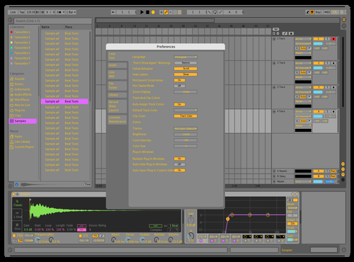 New mix Theme for Ableton 10 by Luis