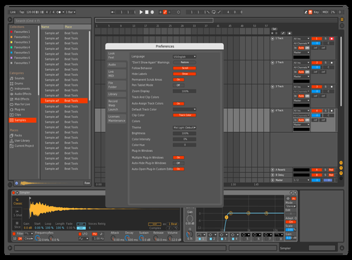 MidDark Optimised Theme for Ableton 10 by IDGI