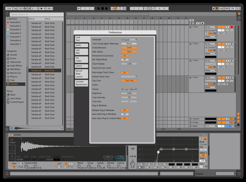 Grey Love v2 Theme for Ableton 10 by giuseppe