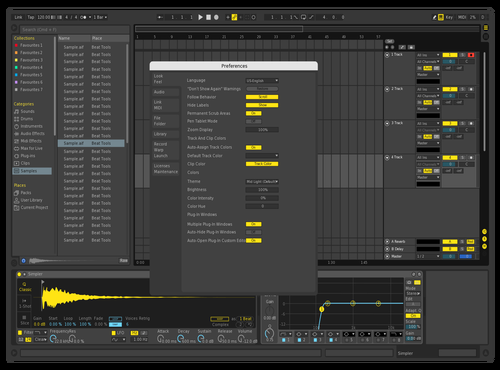 DARKDEFBR1 Theme for Ableton 10 by david