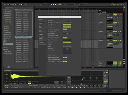 Mint Theme for Ableton 10 by Toni Young