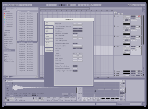 Soft Theme for Ableton 10 by Peter Krol