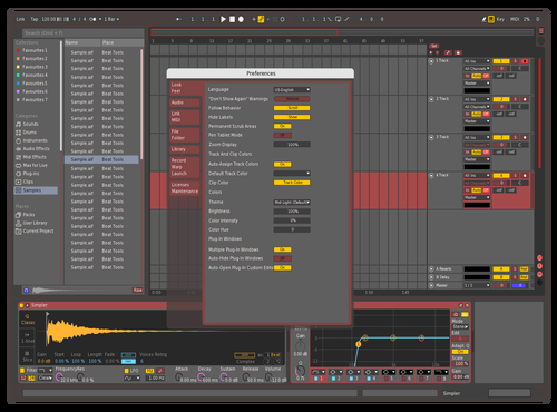 Red Theme Theme for Ableton 10 by Fehér Tamás