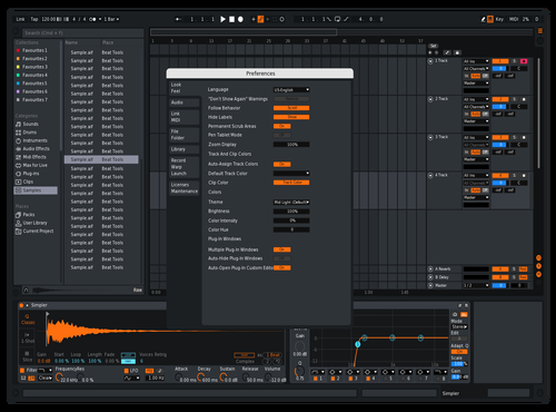 Mid super epic Theme for Ableton 10 by Not Reaver alt