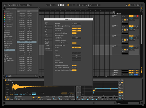 Darker Theme for Ableton 10 by CHANKIS SUPREME