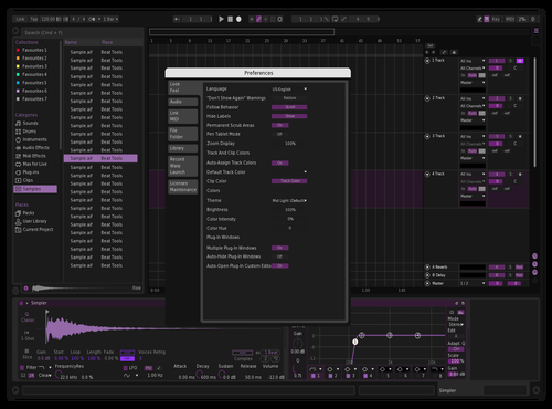 Candcnov2019a Theme for Ableton 10 by chicky