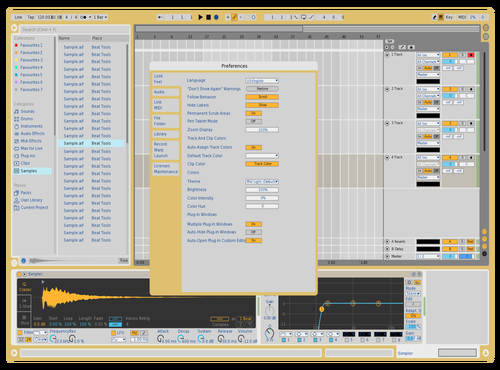 Test Theme for Ableton 10 by Peter