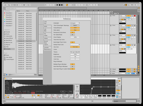 6 Theme for Ableton 10 by Noelrvng