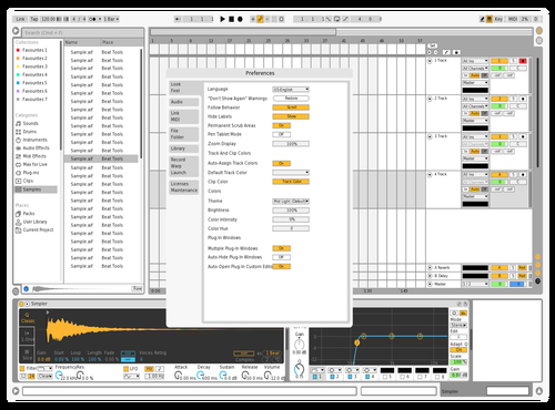 Whiten Theme for Ableton 10 by defmann