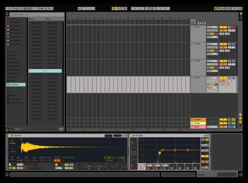 Bot Theme for Ableton 10 by Fer