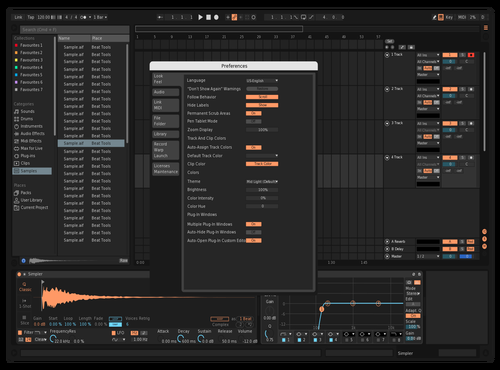 Peach🍑 Theme for Ableton 10 by R