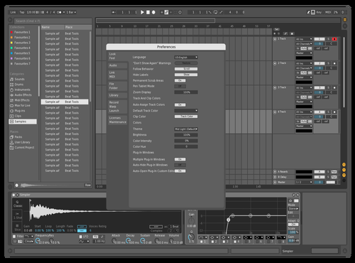 Flat Mono Theme for Ableton 10 by Savel1y