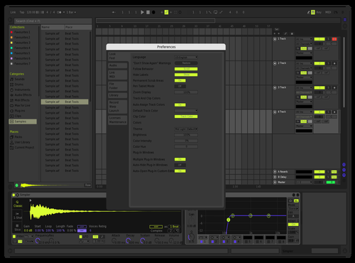 Dark Harmony Theme for Ableton 10 by IONCROPS