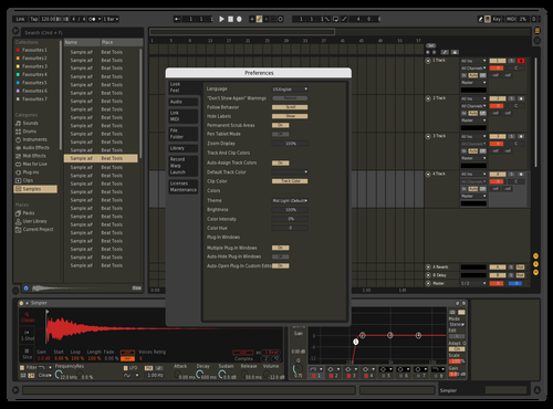 Dark militaire Theme for Ableton 10 by sckadjo