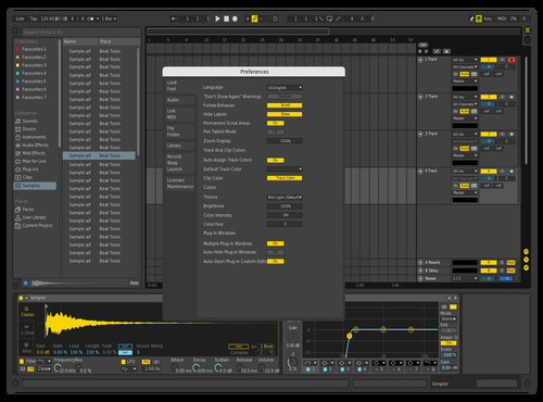 Better Yellow Theme for Ableton 10 by micdig23
