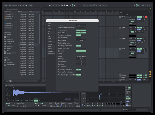 Discord Pastel Theme for Ableton 10 by Ethan