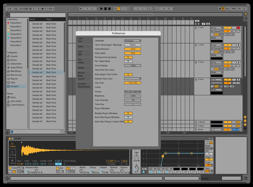 123 Theme for Ableton 10 by luoming