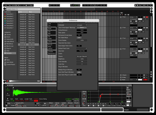 BWRG Theme for Ableton 10 by mmd145145
