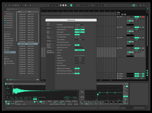 01 Theme for Ableton 10 by pompon