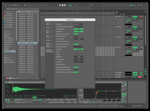 Green 1 Theme for Ableton 10 by TIDES