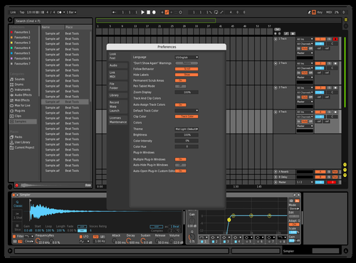 My Olya Theme Theme for Ableton 10 by -