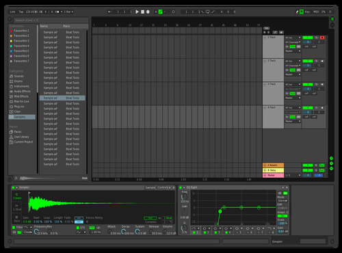 Qeee Theme for Ableton 10 by ren14658