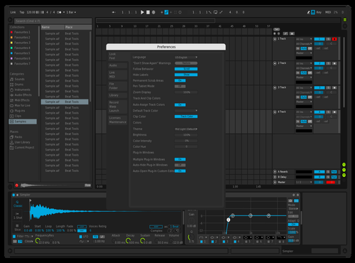 PureAV Theme for Ableton 10 by Cyfl0w