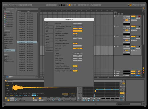 [middark] Theme for Ableton 10 by AlexeyLuch