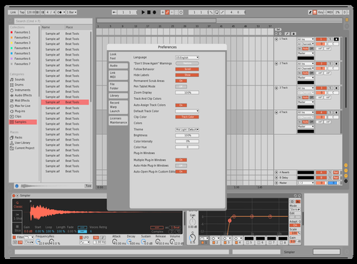 Candy Paste Theme for Ableton 10 by dcj