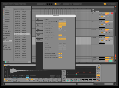 Mass Theme for Ableton 10 by harris